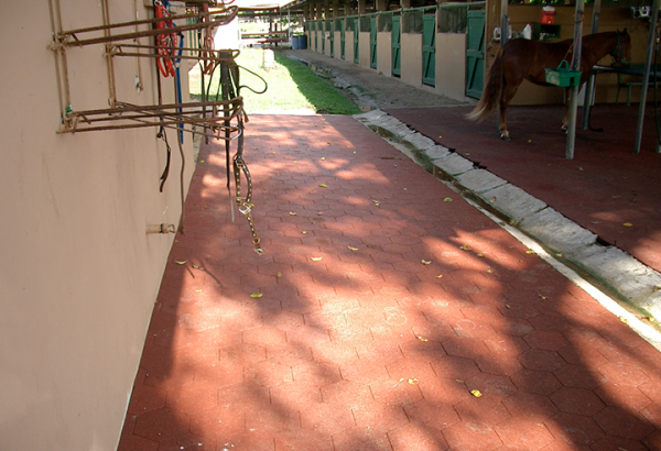 SofScape Recycled Rubber Pavers - Barm Flooring - Equine Flooring - Rubber Decking - Playground Surfacing
