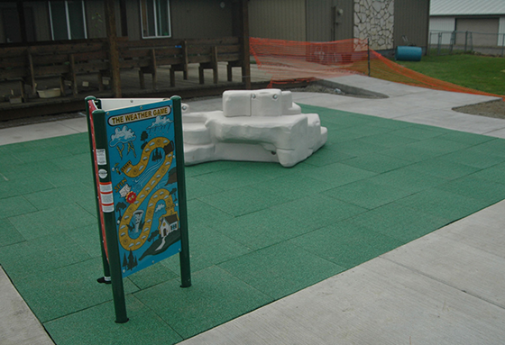 Bounceback Playground Tile Diamond Safety Concepts