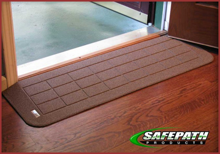 Safepath Ezedge Rubber Transition Ramps Door Entry