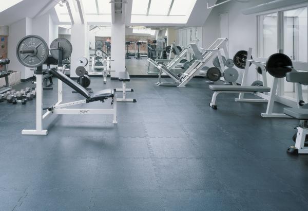 Pawling Interlocking Rubber Athletic Flooring Gym