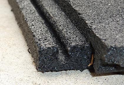 MMI PopLock Interlocking Recycled Rubber Sports Flooring - Female Edge - Fitness Flooring Tile - Rubber Equine Flooring