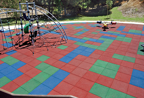 Kid Kushion Playground Tile Diamond Safety Concepts