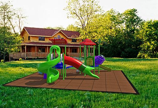 Kid Kushion Playground Tile Diamond Safety Concepts