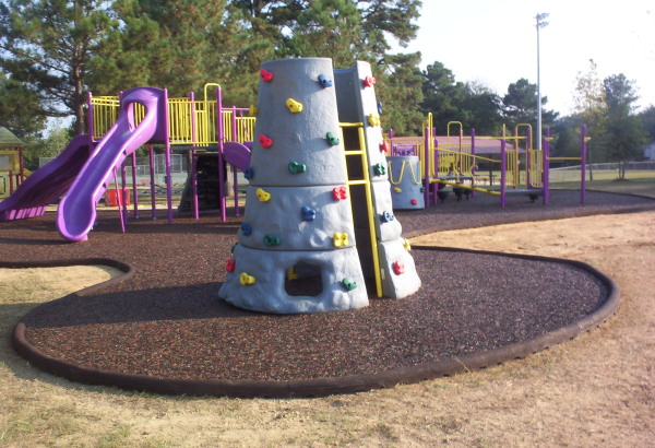 Imc Rubber Timber Playground Border Diamond Safety