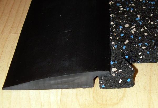Zip tile interlocking rubber flooring tiles diamond