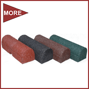 Rubberflex Curb - Rubber Border- Playground Border - Landscape Timber