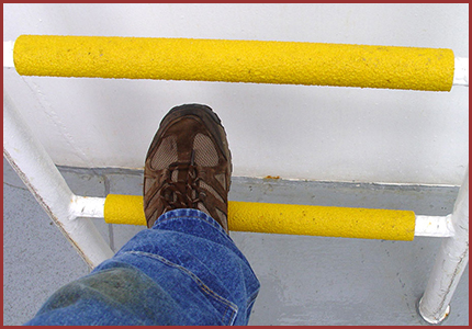 Safeguard Ladder Rung Safety Covers Diamond Safety Concepts