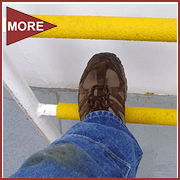 Safeguard Anti-slip Ladder Rung Covers