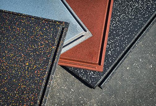 PopLock Interlocking Rubber Tiles - Sample Colors