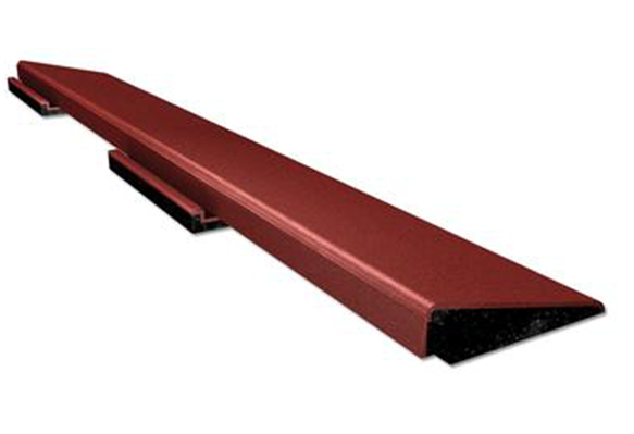 SofTile Rubber Decking Tile Interlocking Transition Ramp
