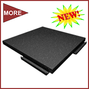SofTile Walkway Pad - Rubber Decking - Rooftop Access Pad