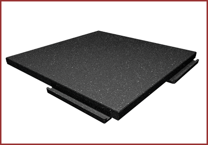 Softile Walkway Pad Rubber Decking Diamond Safety Concepts