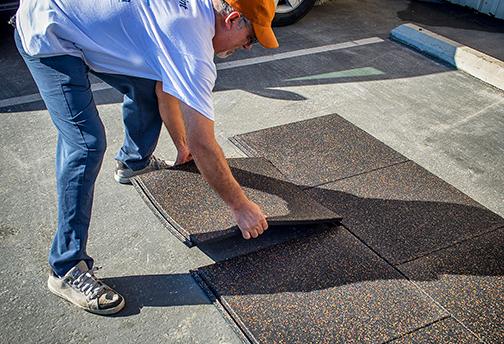 Installing PopLock Interlocking Rubber Tiles - Staggered Installation Method