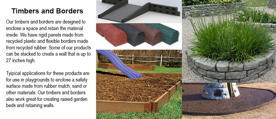 Landscape Timbers and Playground Borders