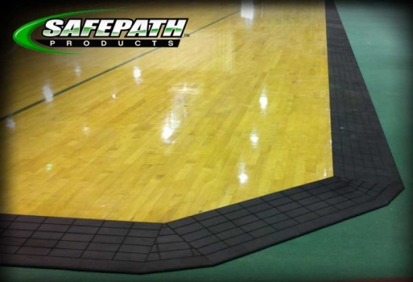Safepath Courtedge Transition Ramp Sport Court