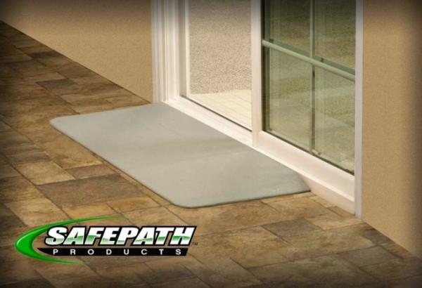 ... SafePath EZEdge Wheelchair Access R& - Transition R& - Wheelchair R& -ADA Door R& ... & SafePath EZEdge Rubber Transition Ramps - Door Entry Transition ...