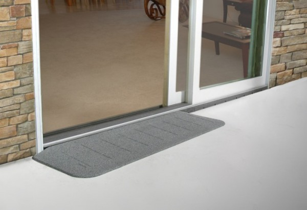 Door transition tile to carpet transition carpet to tile for Wheelchair accessible doorways
